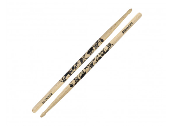 Baquetas para Bateria/Baqueta 5B Tama  5B Sticks of Doom OAK (par)