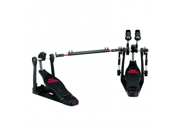 Pedal para Bateria Tama Doppelpedal HP600DTWBK Iron Cobra Limited Edition