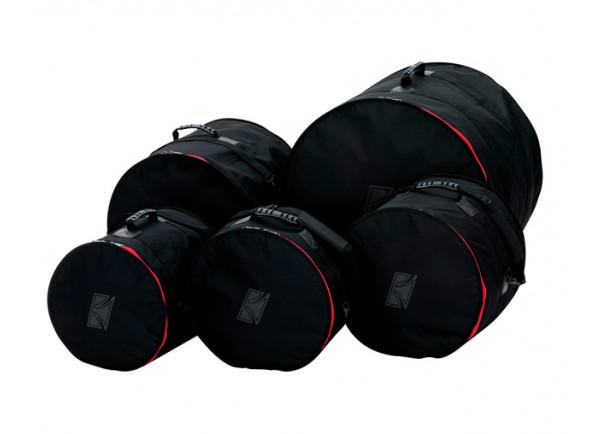 Sacos para bateria/Bolsas para bateria acústica Tama   DSS62H pack Preto