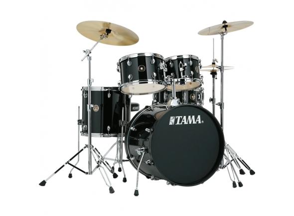 Conjunto de bateria completo Tama Rhythm Mate Studio Black
