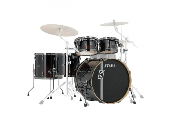 Baterias TAMA Kits de hardware sin hardware Tama Superstar H.Maple R.Shells DMF