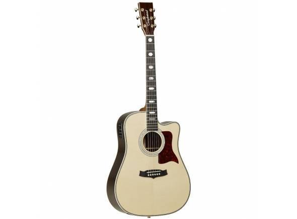 Guitarra Acústica eletrificada 4/4/Guitarras Dreadnought Tanglewood HERITAGE TW1000HSRCE