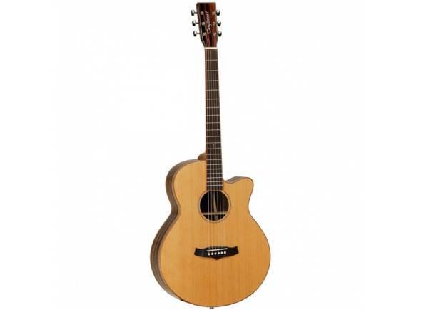 Guitarra Acústica eletrificada 4/4/Guitarras Folk Tanglewood JAVA TWJ SFCE