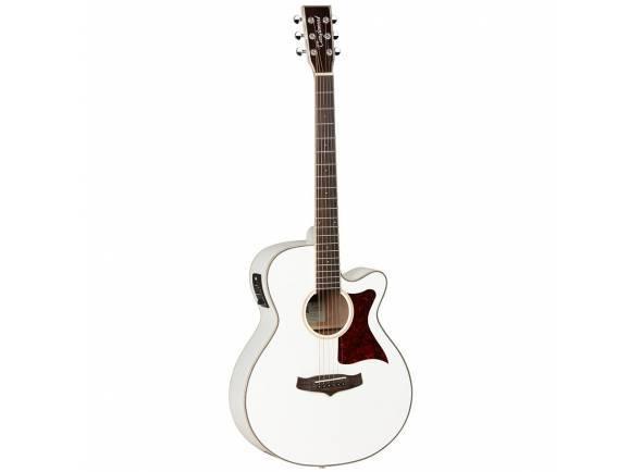 Guitarra Acústica eletrificada 4/4/Guitarras Folk Tanglewood TW4 WH