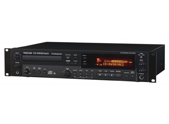 Gravador CD RW Profissional/Gravadores Digitais Tascam CD-RW 901 Mk2