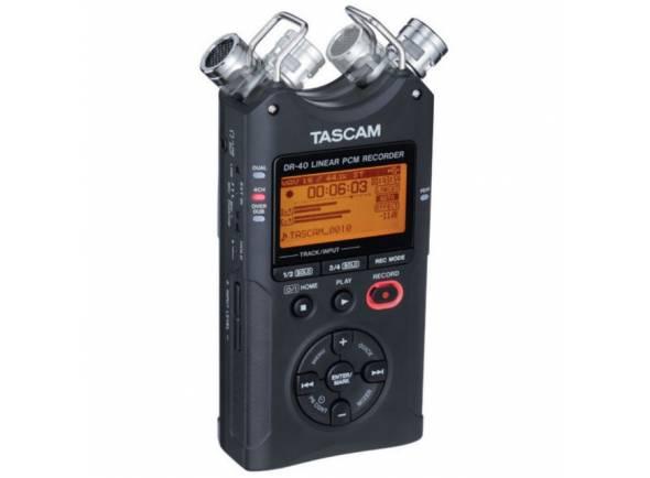 Gravadores Digitais Tascam DR-40 V2