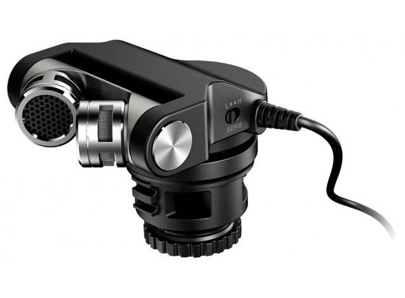 Microfone para Câmara/Microfone para Câmara Tascam TM-2X