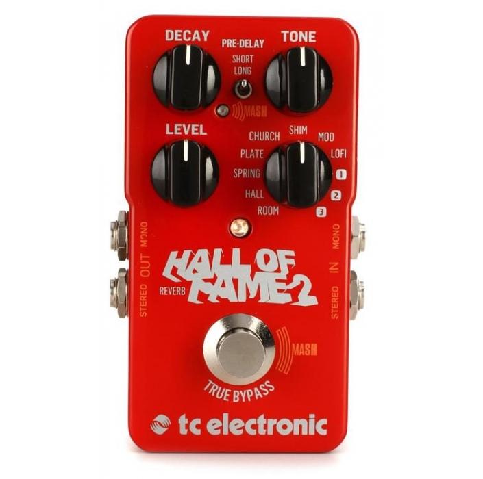 Ver mais informações do  TC Electronic Hall of Fame 2