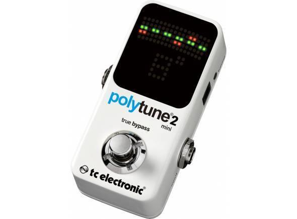 Ver mais informações do Afinador TC Electronic PolyTune 2 Mini