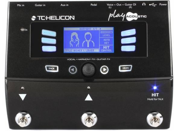Processadores para vocalistas TC Helicon Play Acoustic