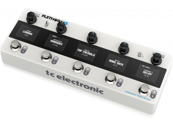 Pedaleiras para guitarra elétrica TC Electronic Plethora X5