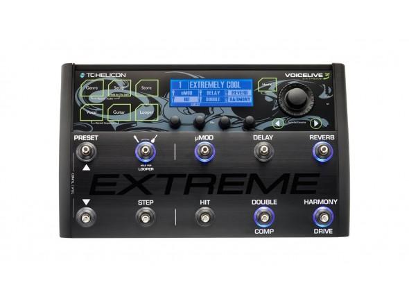 Processadores para vocalistas /Processadores para vocalistas TC Helicon VoiceLive 3 Extreme