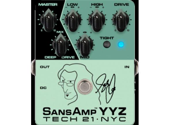 Pedal de pré-amplificador de baixo/Pedais para baixo Tech 21  Geddy Lee Signature SansAmp YYZ