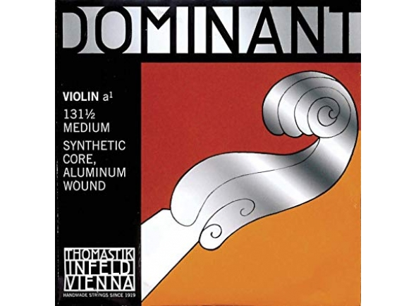 Corda para violino/Cordas Thomastik  Dominant Lá Violin 1/2