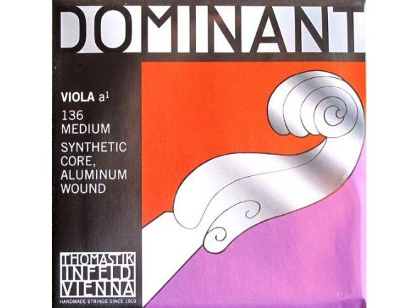 corda para viola/Cordas para Viola Thomastik Dominant Viola A Medium 136