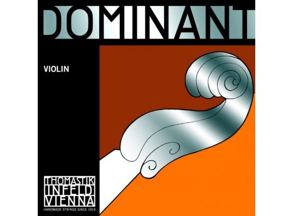 Corda para violino/Cordas Thomastik Dominant Violin Lá 131 1/4 Medium Aluminium
