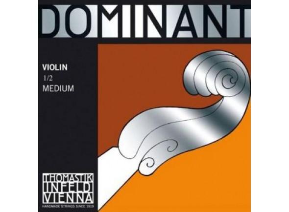 Corda para violino/Cordas Thomastik Dominant Violin Sol 133 1/2 Silver