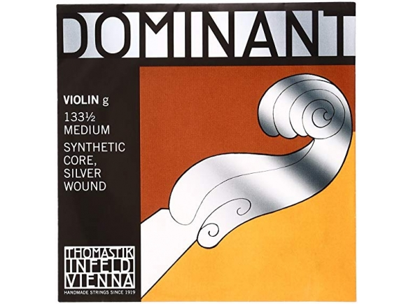Corda para violino/Cordas Thomastik Dominant Violin Sol String 1/4