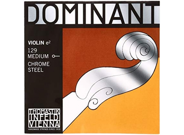 Corda para violino/Cordas Thomastik-Infeld Dominant Violin Mi 129 1/2 Medium
