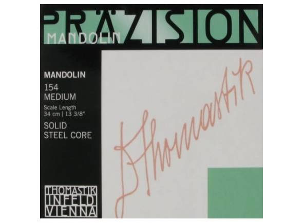 Jogos de cordas para bandolim Thomastik Mandolin Set medium