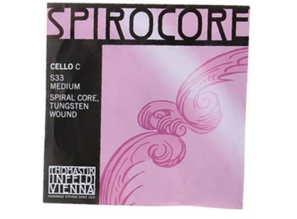 Cordas para Violoncelo/Violoncelo Thomastik Spirocore Cello 4/4 medium