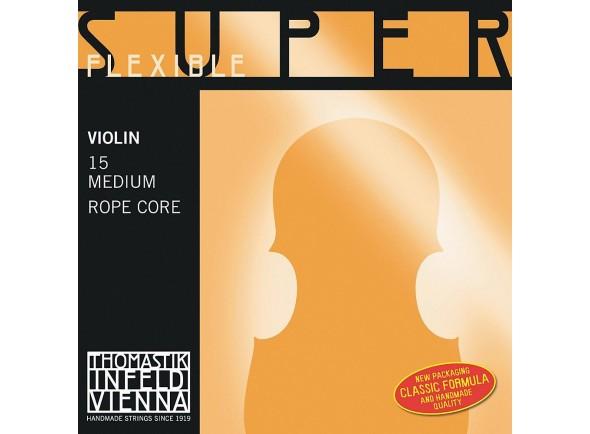 Cordas para Violino 4/4/Cordas Thomastik Superflexible Violin 4/4 med