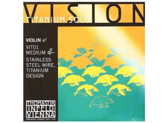 Cordas Thomastik Vision Titanium Solo E VIT01