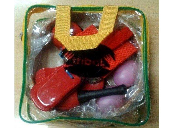 Kit de instrumentos/Kit de instrumentos Tribal 6 instrumentos