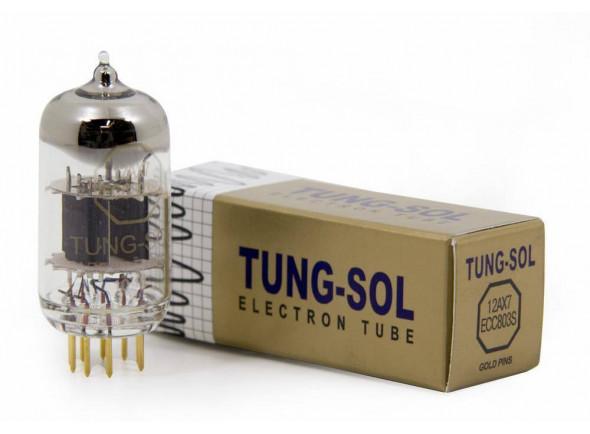 Válvulas para amplificadores Tung Sol   ECC803S/Tubos De Pino Ouro 12AX7