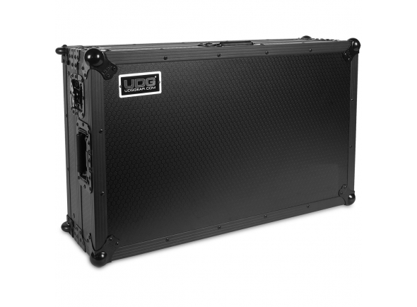 Estojos e malas UDG Ultimate Flight Case Pioneer XDJ-RX2 Black Plus (Wheels) B-Stock
