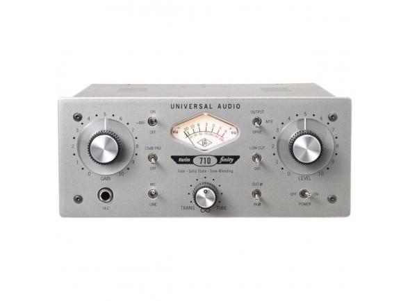 Pré-amplificador Universal Audio 710 Twin-Finity