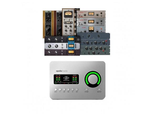 Interfaces de áudio Thunderbolt Universal Audio Apollo Solo TB3 Heritage Ed.