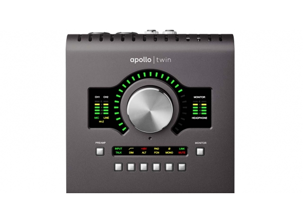 Interfaces de áudio Thunderbolt Universal Audio Apollo Twin MKII Quad