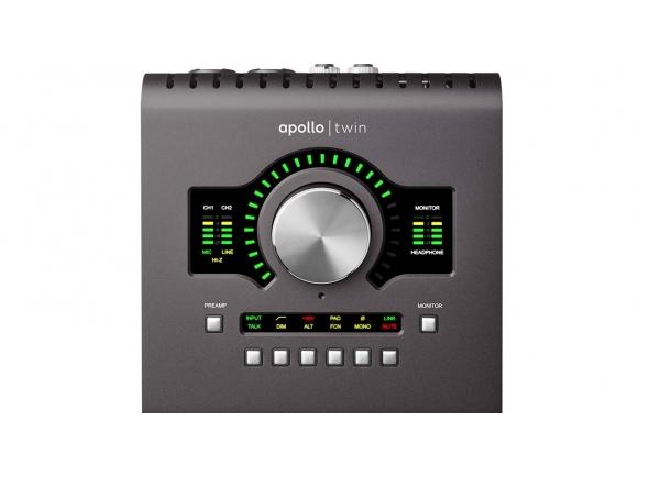 Ver mais informações do  Universal Audio Apollo Twin MKII Quad