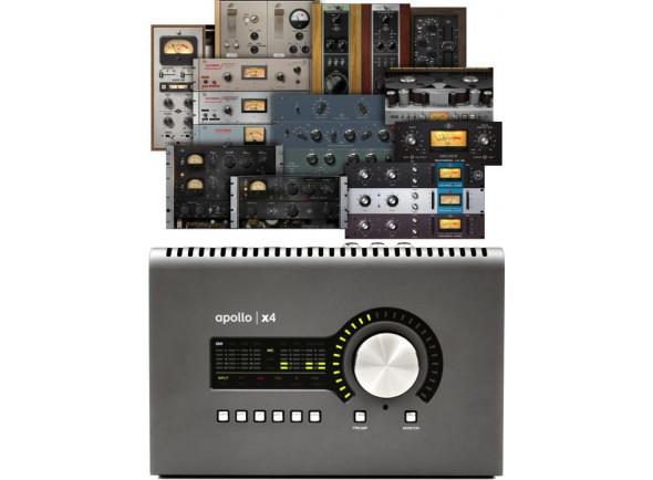 Interfaces de áudio Thunderbolt Universal Audio Apollo X4 Heritage Edition