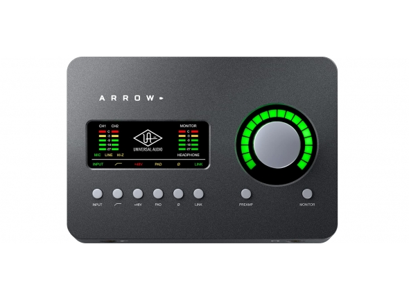 Interfaces de áudio Thunderbolt Universal Audio Arrow