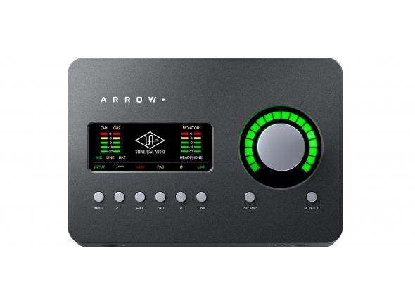 Ver mais informações do  Universal Audio Arrow