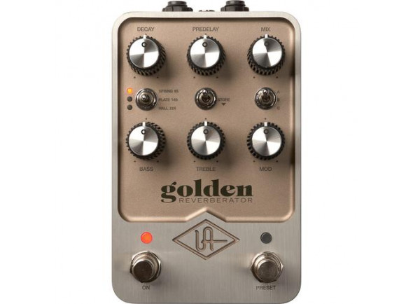 Efeitos reverb e hall Universal Audio  PM-GOLD Golden Reverb Pedal