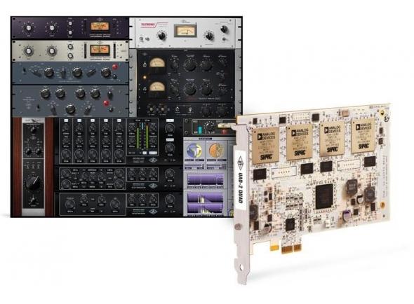 Interfaces Ethernet Universal Audio UAD-2 Quad