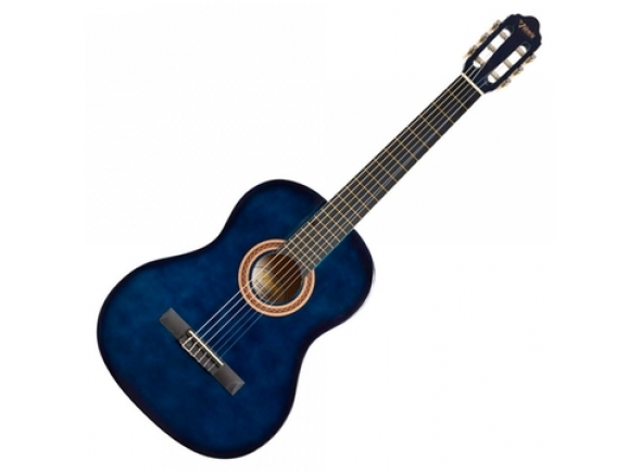 Guitarra Clássica Valencia VC101 1/4 BLSB