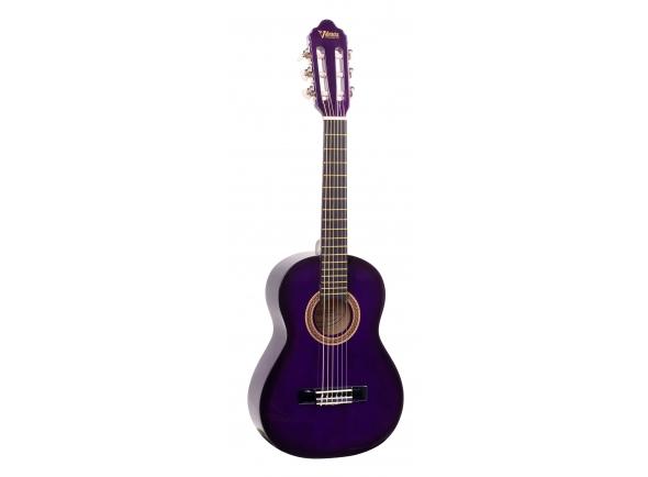 Guitarra Clássica Valencia VC101 1/4 PPSB