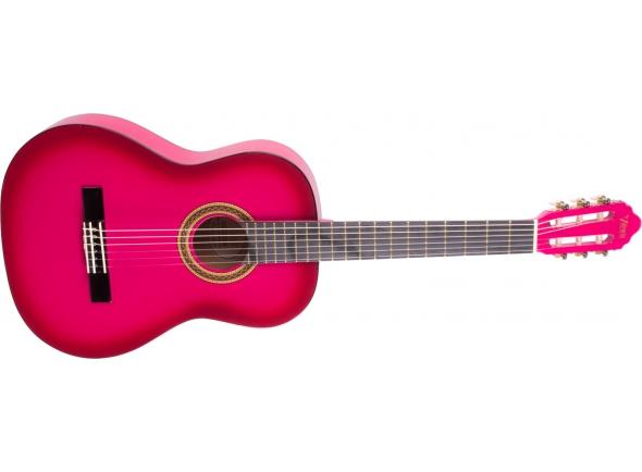 Guitarra Clássica Valencia VC103 3/4 PKSB