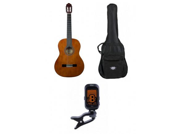 Guitarra Clássica Valencia  VC104 Bundle