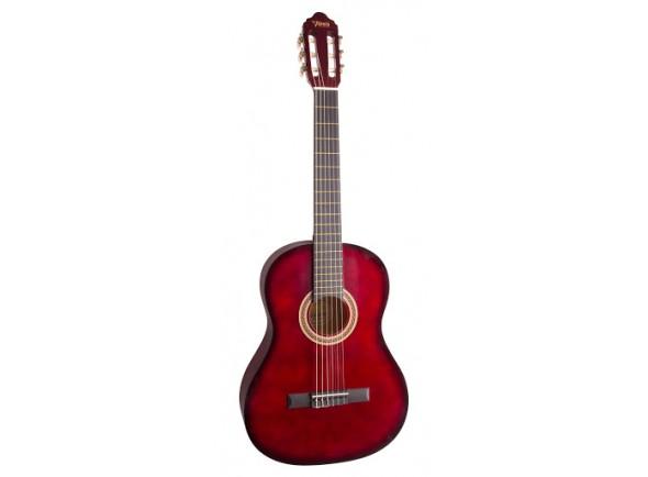 Guitarra Clássica Valencia VC104 Red Sunburst