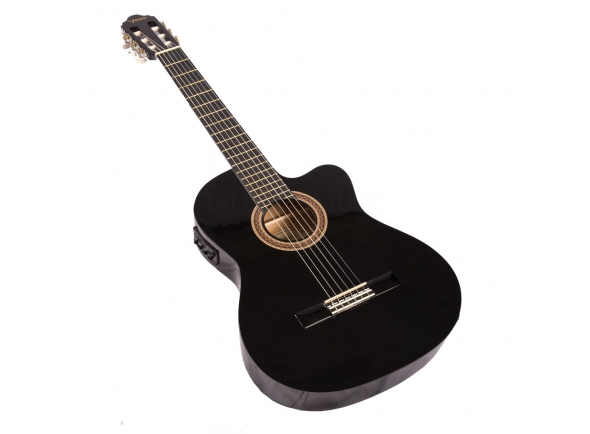 Guitarras Dreadnought Valencia VC104CEBK