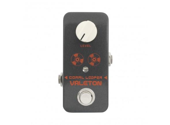 Pedal de efeitos para guitarra e baixo/Looper Valeton Coral Looper
