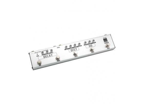 Pedaleiras para guitarra elétrica Valeton Dapper 4 Effect Strip