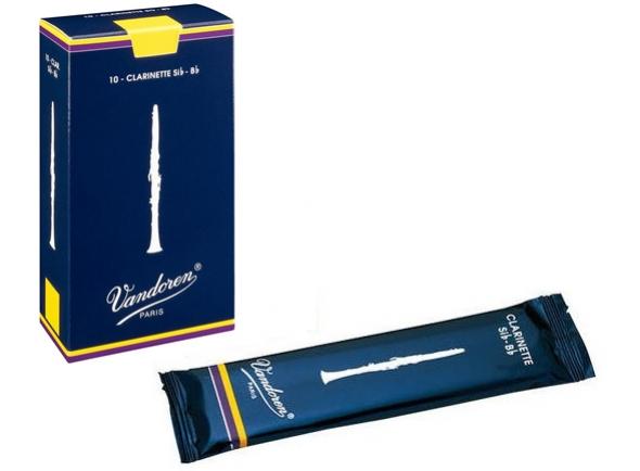 Palheta nº1.5/Palheta para clarinete Vandoren  Classic Blue 1.5 Bb-Clarinet