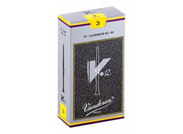 Palheta para clarinete Vandoren V12 3 Bb-Clarinet