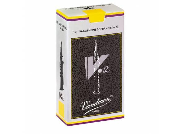 Palheta para saxofone soprano Vandoren V12 4 Soprano Sax